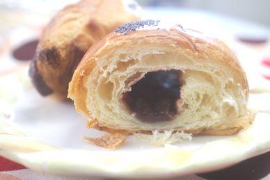 あんこクロワッサン 発酵バター使用