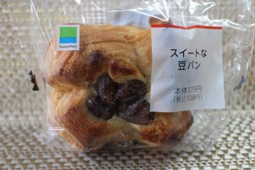 スイートな豆パン