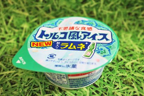 トルコ風アイス粒入りラムネ【ファミリーマート】