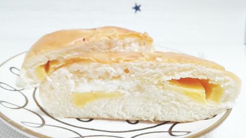 ホイップとカスタードのダブルクリームパン【セブンイレブン】