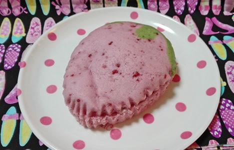 【ローソン】まるでいちご蒸しケーキ