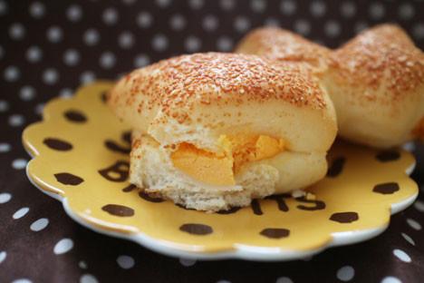 チーズの香り広がるチェダーチーズパン