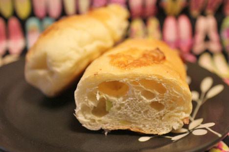 枝豆とベーコンチーズのパン