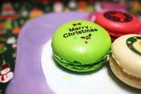 クリスマスマカロン 3個入