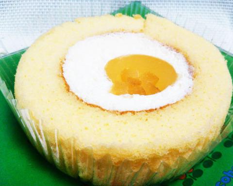 晩柑ロールケーキ