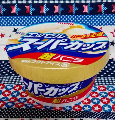 エッセルスーパーカップ超バニラ【明治】