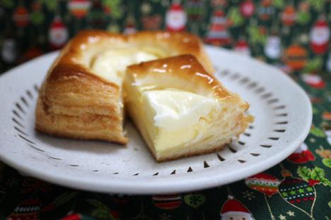 濃厚チーズクリームデニッシュ