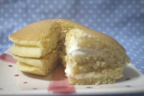 北海道クリームチーズパンケーキ