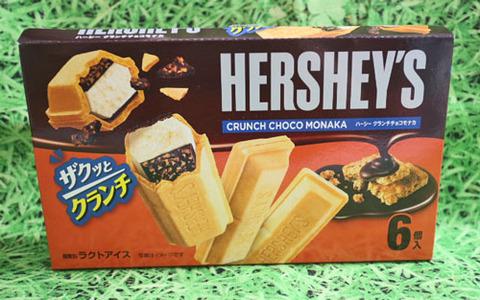 HERSHEY'Sクランチチョコモナカ