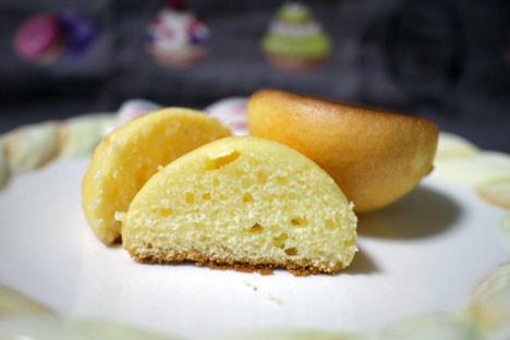 しっとりとしたたまごのパン