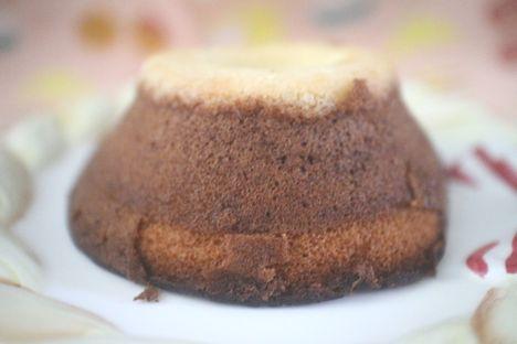 お山のケーキ