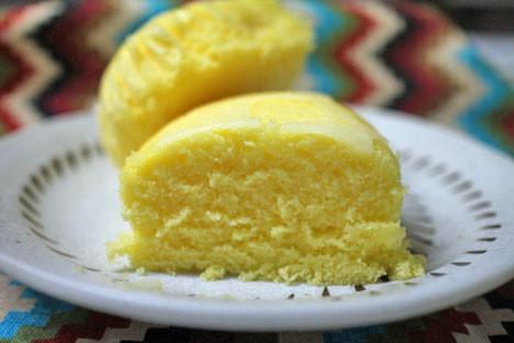 瀬戸内産塩レモン蒸しケーキ