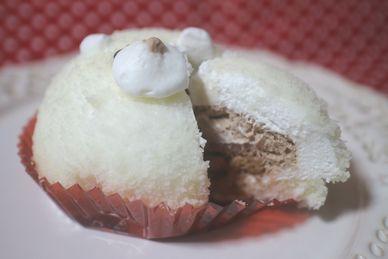 白いくまさんムースケーキ
