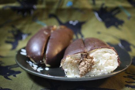 まろやかビターのダブルチョコロール
