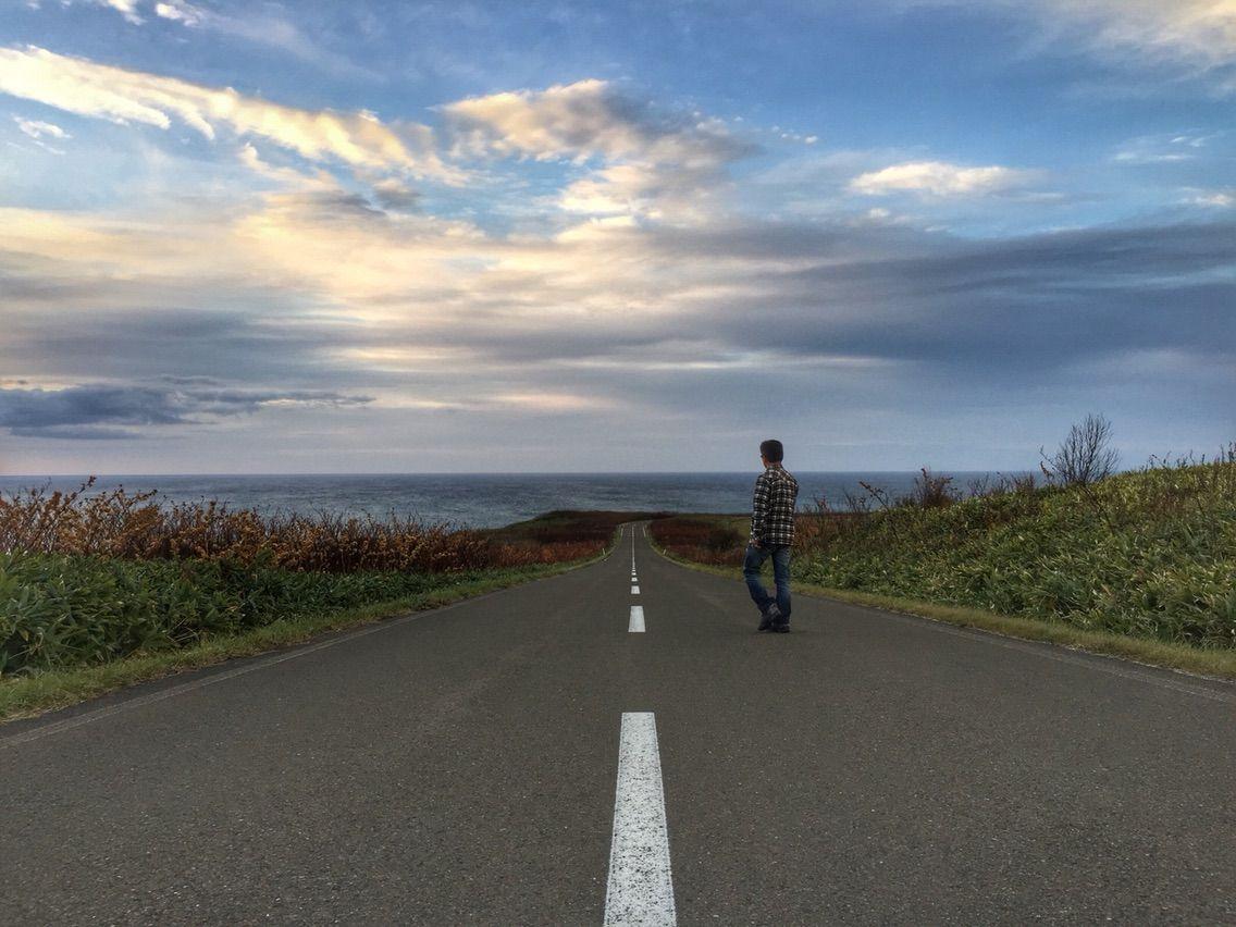 北海道 海 黒い