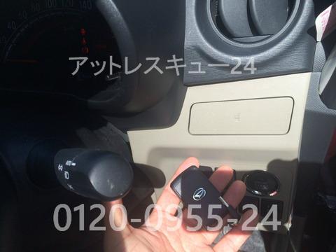 ダイハツLA100系MOVEイモビライザー電子キー作製