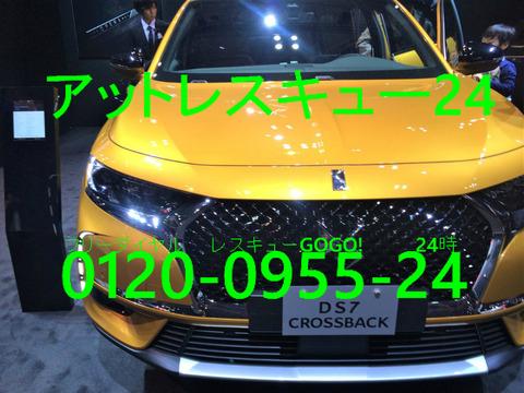 DS 7 CROSSBACK 東京モーターショー