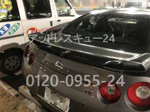 ニッサンR35GT-R車内インロック