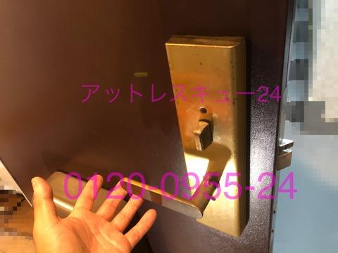 GOAL玄関ドア動作不具合メンテナンス清掃