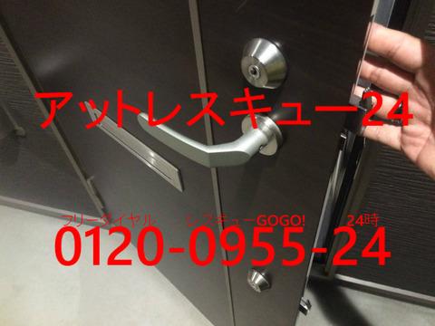 U-SHIN SHOWA  ウェーブキー開錠
