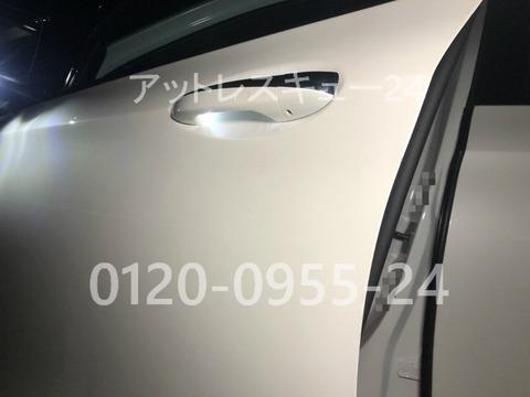 メルセデスベンツW213AMG車内インキー無傷開錠