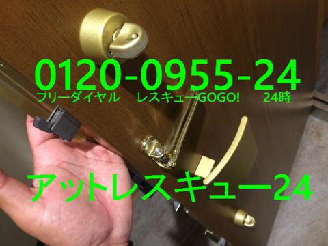 玄関ドア ハイセキュリティーサムターン開錠