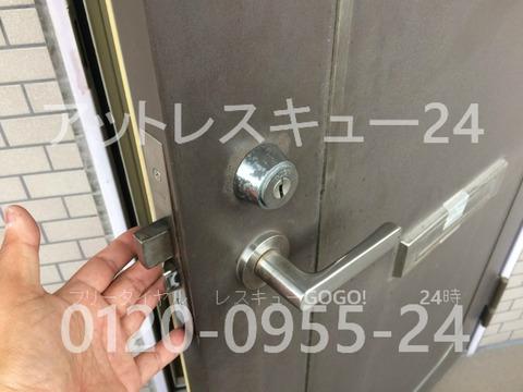 HDSディンプルキー玄関ドア開錠