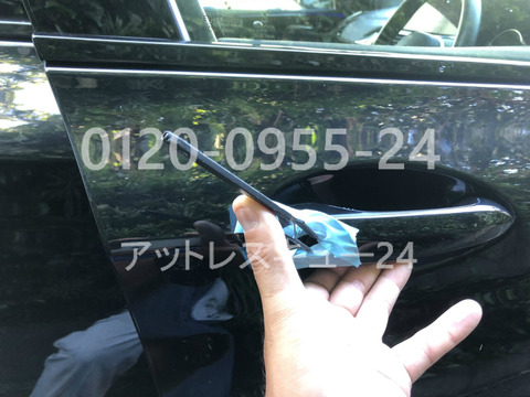 G02系BMW現行型X4カギ穴ピッキング解錠