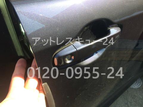 トヨタ2014年型VOXYドアロック鍵開け