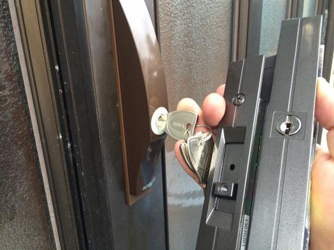 MIWA PS 引き戸錠