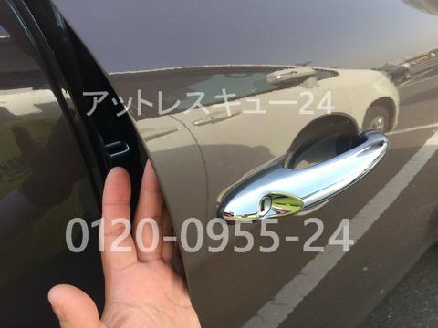 BMWミニクラブマン鍵のインロック開錠