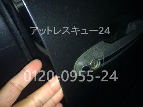 ベンツの鍵開けW168A160ドアロック開錠