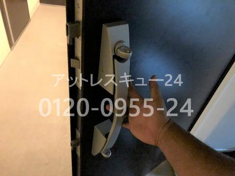 プッシュプル錠スイッチ式B5型防犯サムターン開錠
