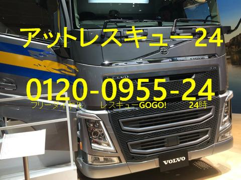 VOLVO FH6トレーラーヘッド 東京モーターショー
