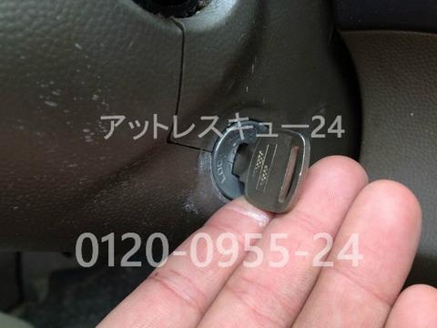 SUZUKIエブリィ放置車両エンジンキー作製