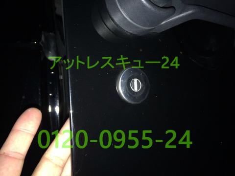 クライスラーJEEPラングラー車内インロック鍵開けレスキュー