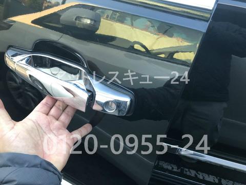 CadillacエスカレードGMT900ドアロック鍵開け