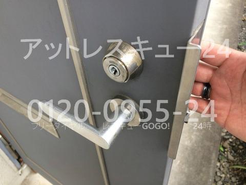 美和ロック H248シリンダー開錠