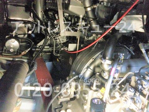 ヤンマーEX46fb エンジンルーム