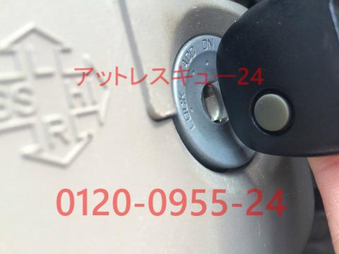 スズキHA24系アルト鍵の復旧キーレスエントリー現場作製