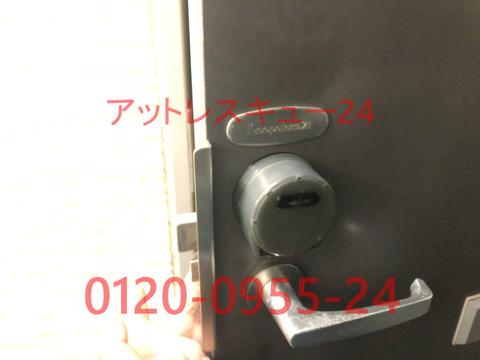 レオパレス21玄関ドア鍵開けレスキュー