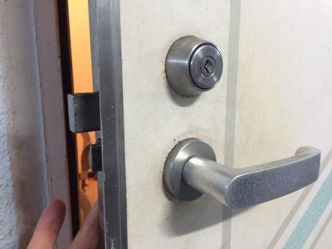 MIWA ディスクシリンダー 玄関カギ開け