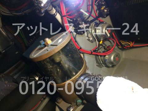 ヤンマーEX46fb 海水濾し器