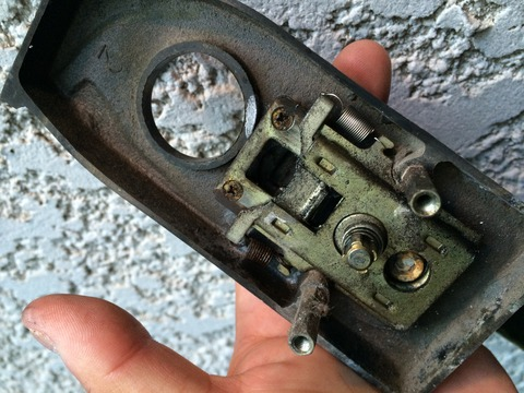 GOALサムラッチ装飾錠不具合 分解修理