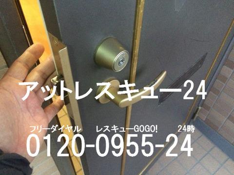 玄関ドア オプナスキー カギ開け
