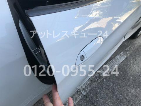 BMW E89型Z4ドアロック鍵開け