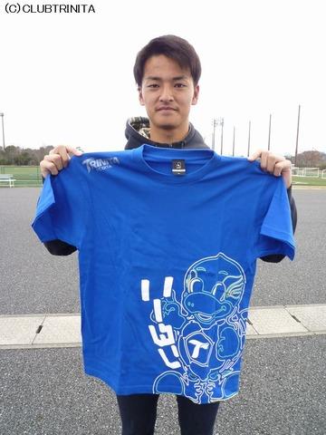山之内選手Tシャツ(ニータン)