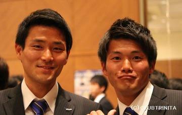 鈴木・福森選手2