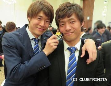 林選手・黄誠秀選手 ブログ