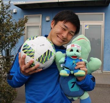 吉平選手☆ボール&ニータン2